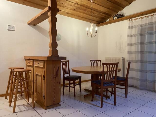 Gut ausgestattete Wohnung (WA120)