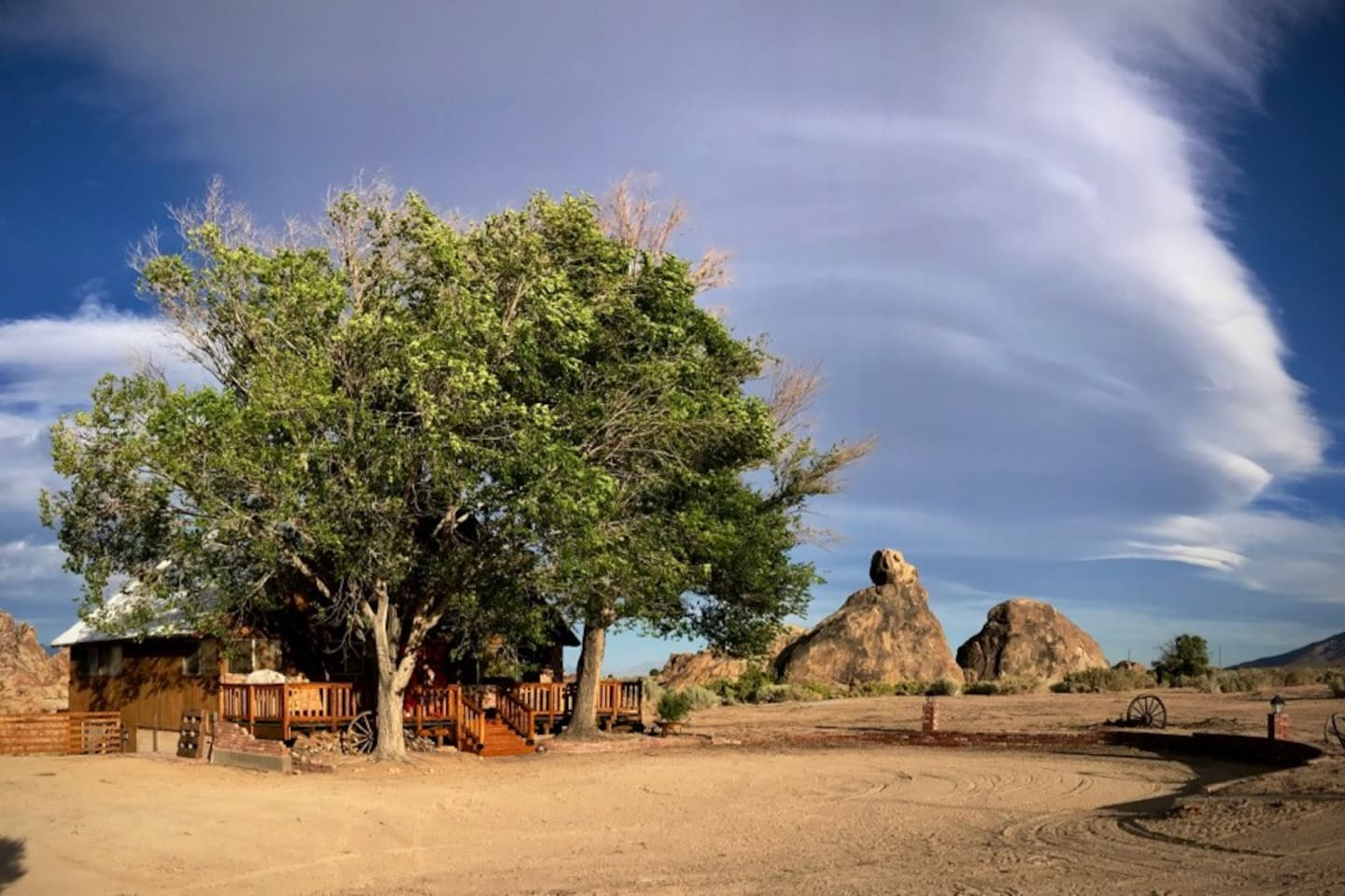 Welcome to Reo's Ranch in the Alabama Hills.