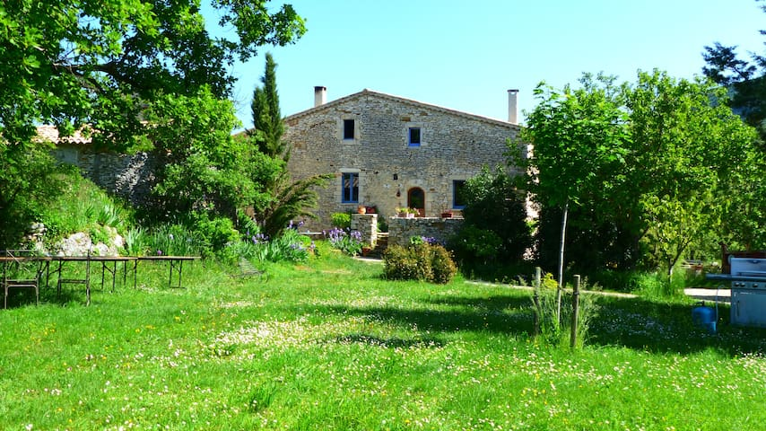 Gîte ferme bio en haute provence