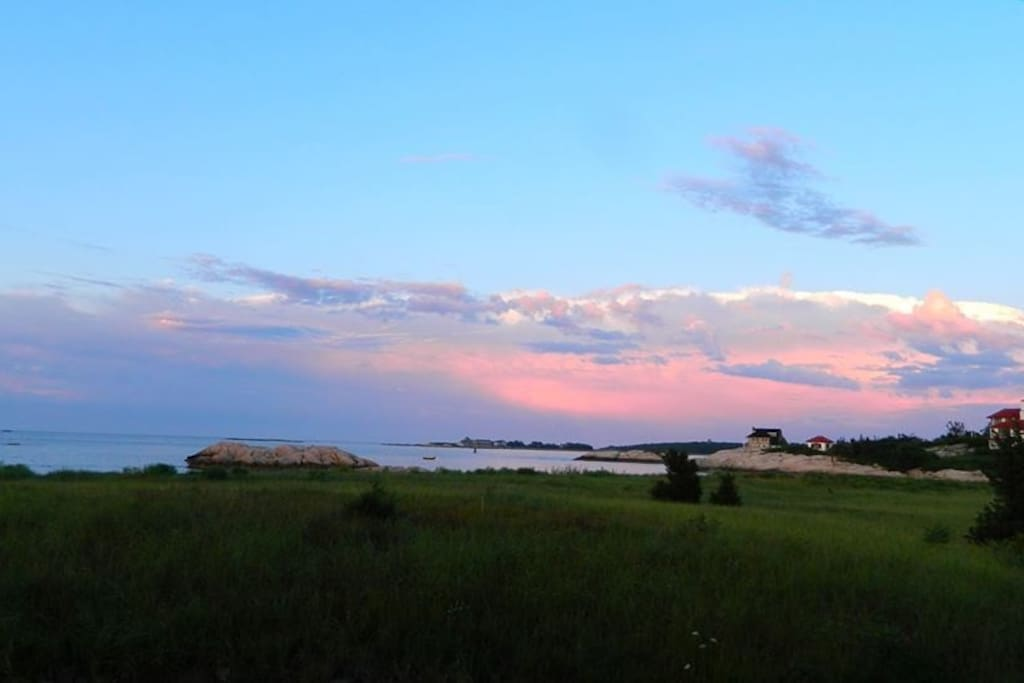 Sunset at Sandy Cove