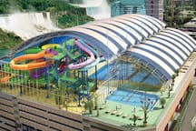 Fallsview Indoor Waterpark located 1 minute away by foot!