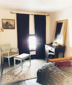 Time Travel & Beer in Victorian Brownstone Suite 2