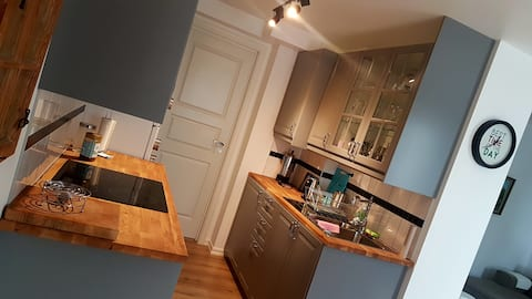 Newly renovated apartment in central Varberg