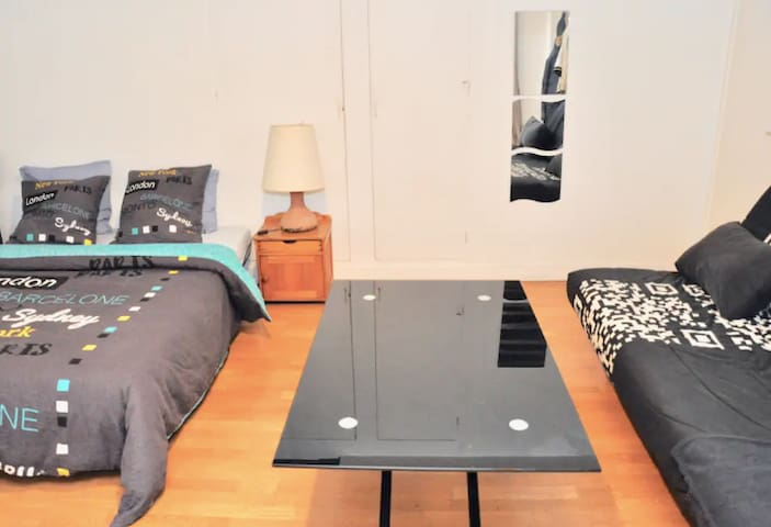 Cosy & bright studio in the heart of Paris /Marais