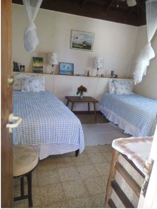 A charming double occupancy ready to host your stay with Seashell guest house.