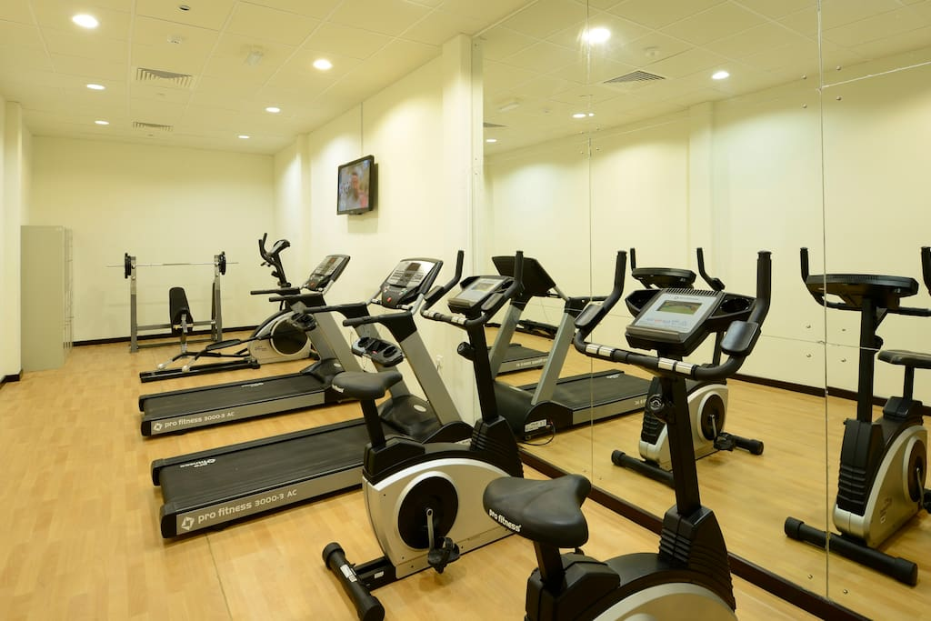 Hotel fitness centre