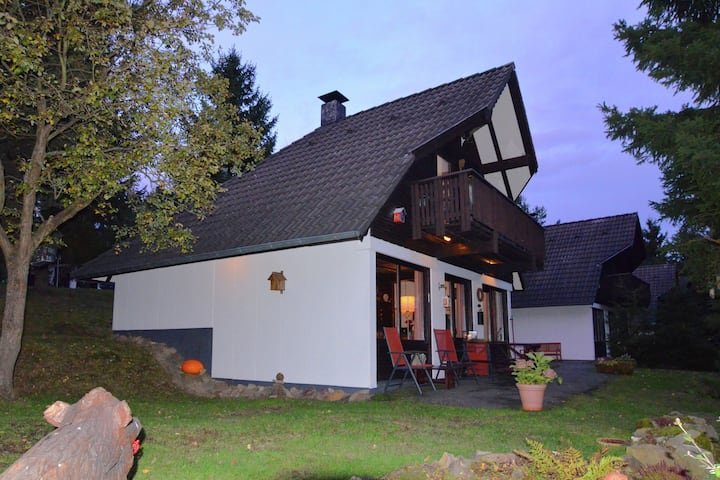 Classic Holiday Home in Frankenau with Garden