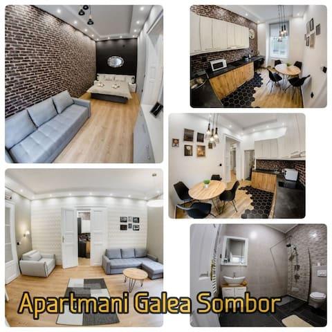 Apartmani u centru Sombora