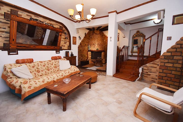 Villa Avra with handcrafted furnitures