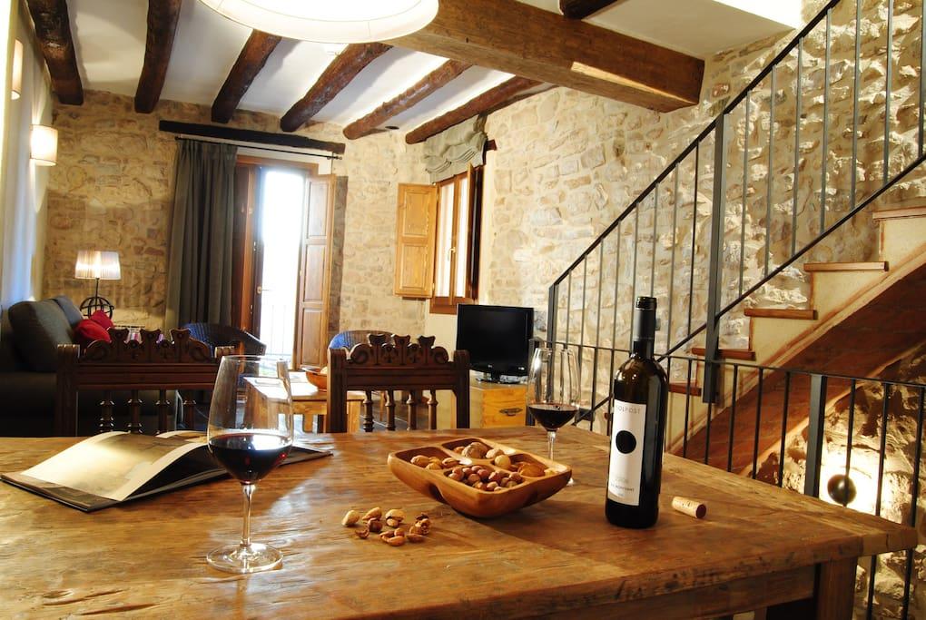 Casa rural cal porxo houses for rent in pradell de la teixeta catalunya spain - Casa rural reus ...