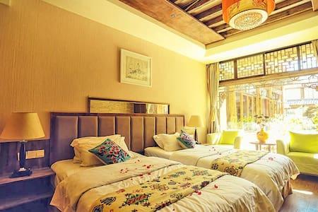 丽江古城区束河古镇中心合天下客栈双床房 标间 - Lijiang