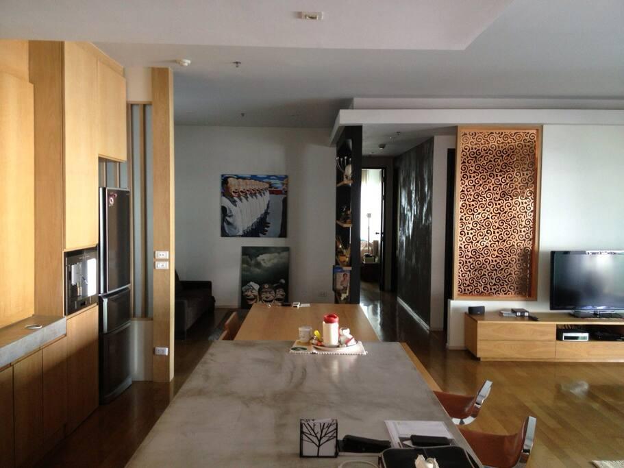 Minimal cozy comfortable decoration