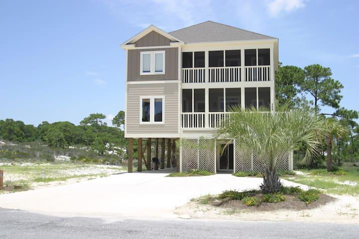 One Bedroom Beach Home Suite  - Dauphin Island - Hus