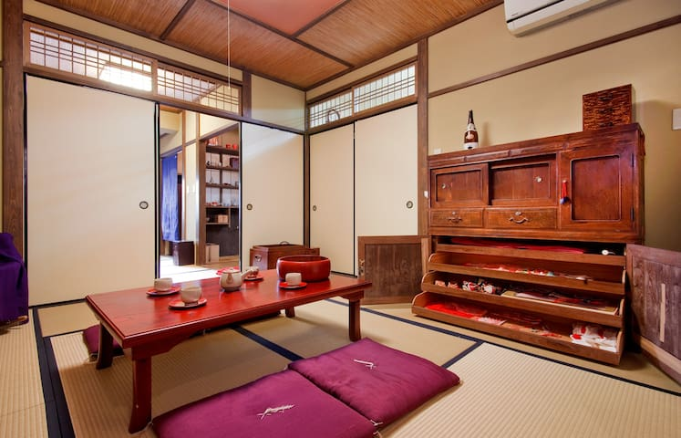 TRADITIONAL TEAHOUSE: Near HOT SPRING & KOBE BEEF - Kōbe-shi - Rumah