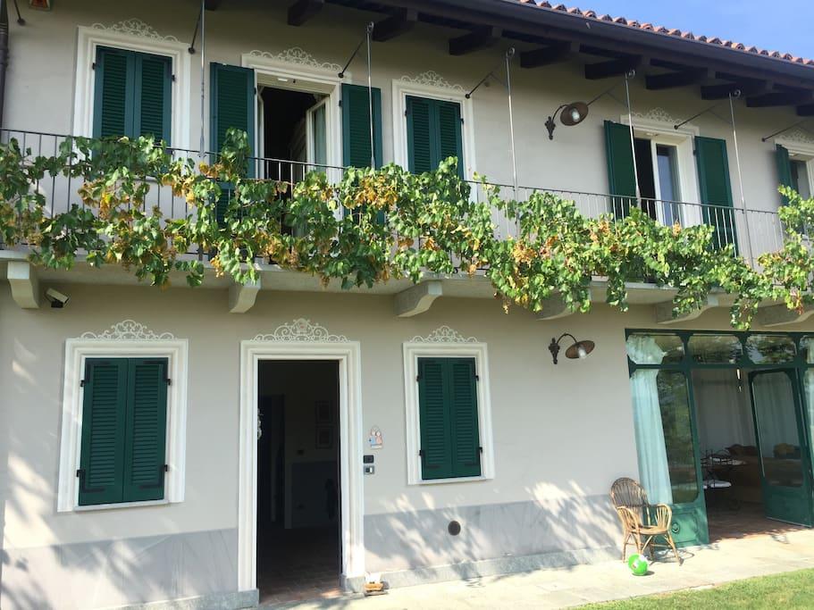 La Casa nella Vigna a completa disposizione degli ospiti