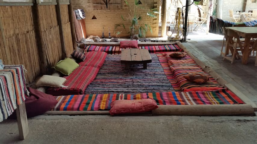 a Zimmer in the desert