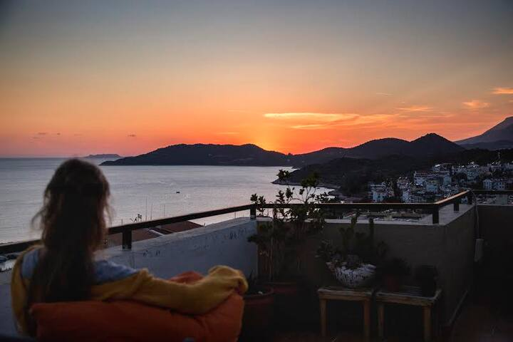 Central appartment, beautiful view! - Kaş - Departamento