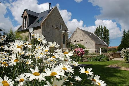 """Moulin à Eau  à 7 km de la mer """"Charme et Détente"""" - vienne en bessin"""