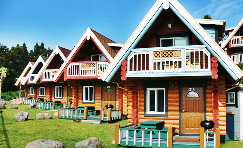 Jungmun Log Pension & Resort T-17