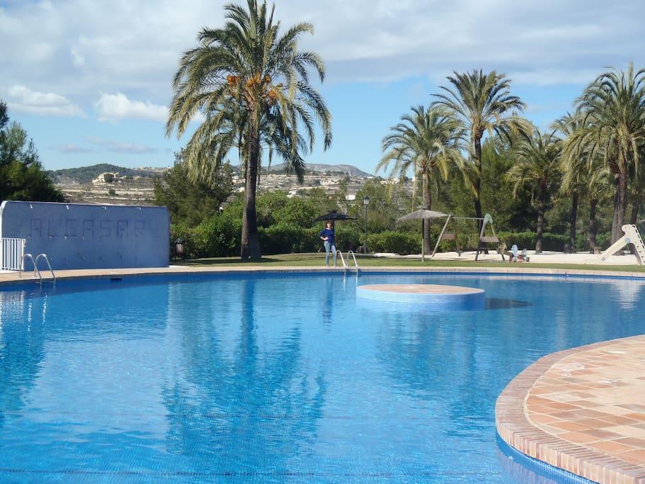 communal piscine