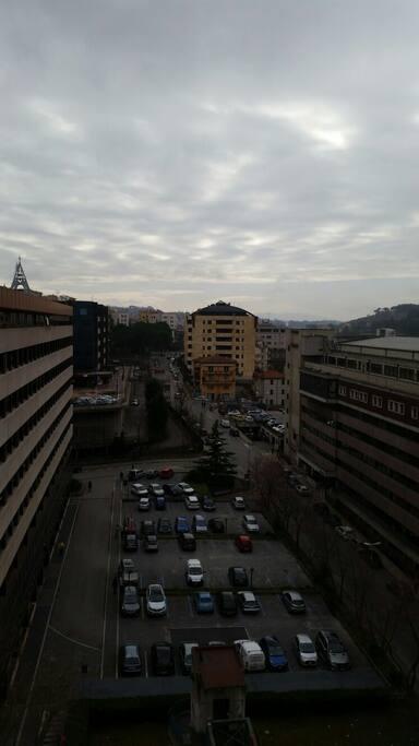 Panorama  dal soggiorno