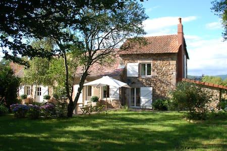 Beeldschone Cottage op 1 ha grond - Chiddes - Casa