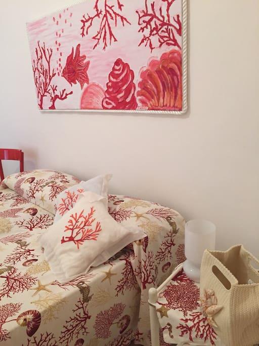 camera matrimoniale corallo