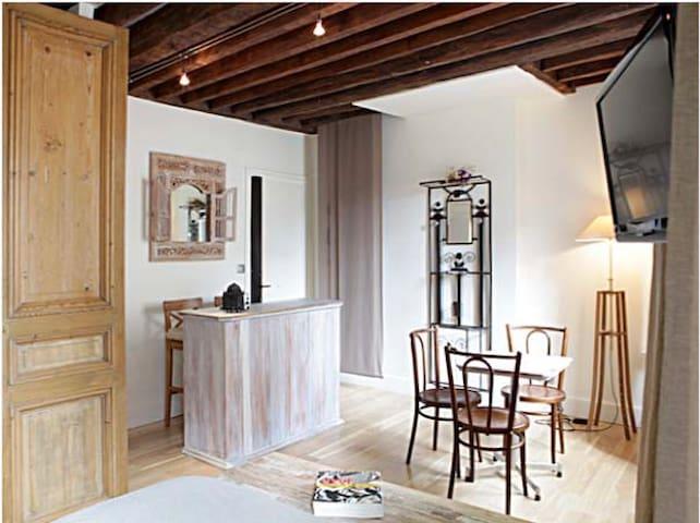 Studio de charme Mouffetard Paris 5 - París - Pis