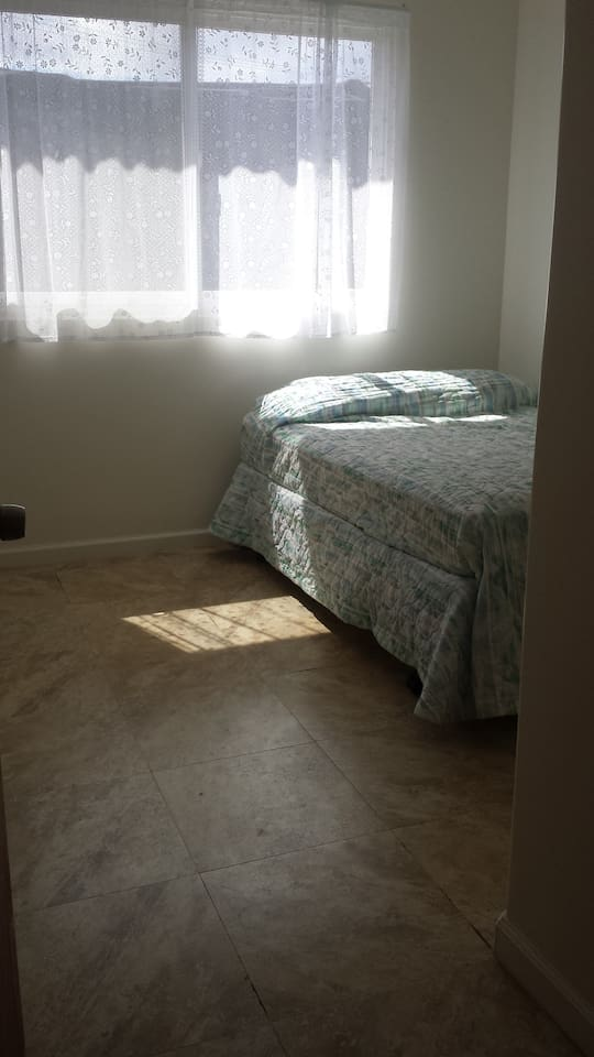 New room in a newly built house