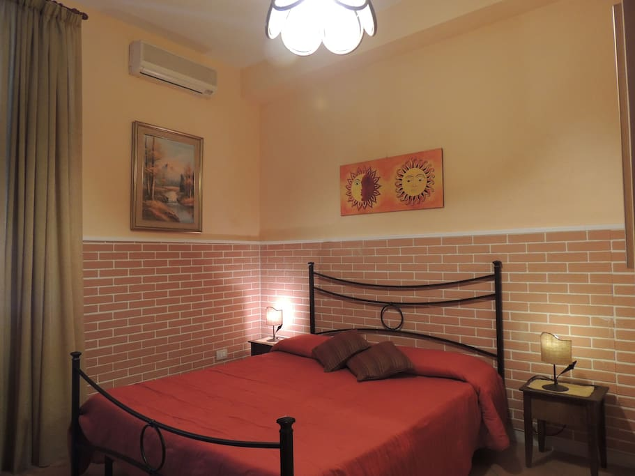 Double room , air conditioner