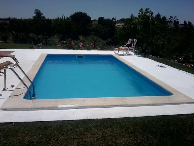 casa de campo com picina - Pontével - Villa