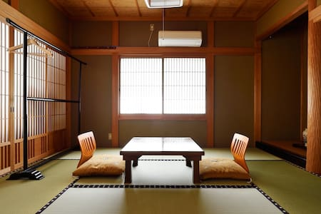 Stay in a temple in Yoshino, the 1st & 2nd floor