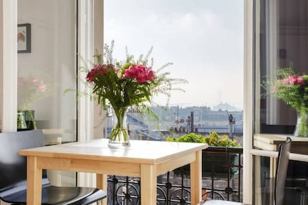 Montmartre with a fantastic view !