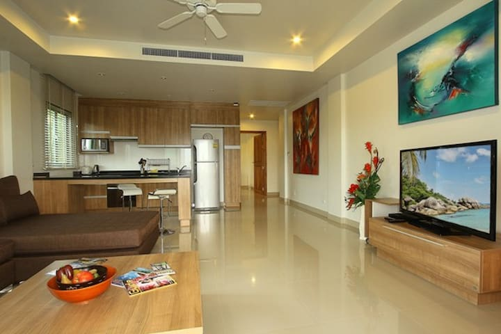 2 Bedrooms Apartment with Sea View - Mai Khao - Appartement