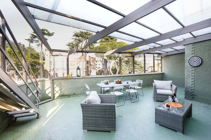 Fantastic Family Penthouse Terrace and 3 bedrooms