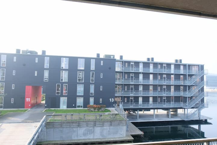Unique modern bright 2 bedroom apartment located in the Copenhagen southern harbour area.