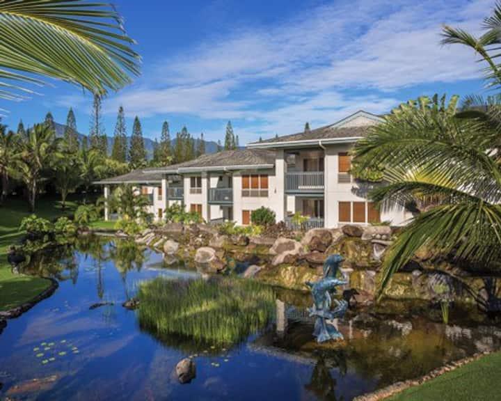 Bali Hai Villas Princeville Kaui Hawaii 2br condo