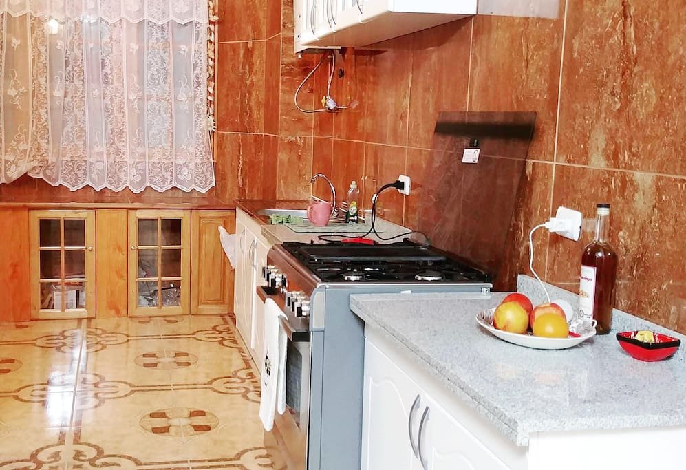Kitchen area for light food prep