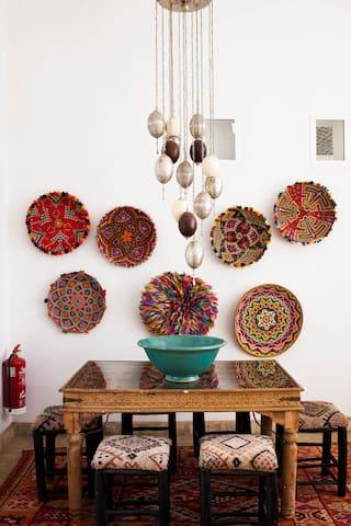 Atlas Pavilion - Sufi Scribe - Douar Laadam