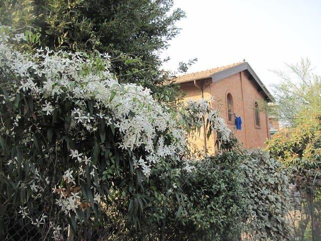 Bella camera grande e luminosa - Bologna - Haus