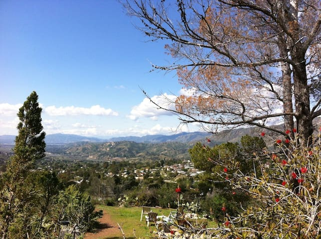 Amazing views at rustic retreat - Los Angeles - Pis