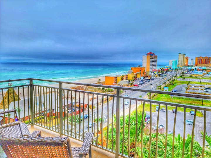 Just listed💥Luxury Beach Resort💎 Free parking⚡