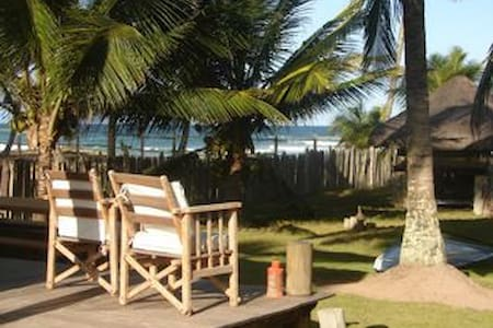 Casa na Beira da Praia de Taipús  - Barra Grande - Casa