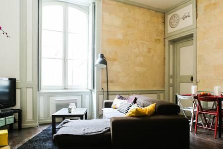Charmant t2 au coeur des Chartrons  - Bordeaux - Lägenhet