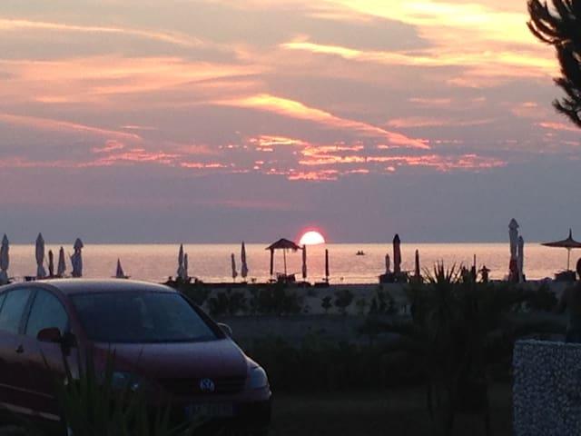 Is located in LURA Turistic Village - Durrës - Apartament
