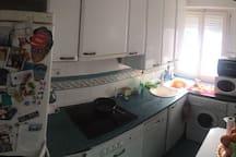 Cocina completamente equipada.