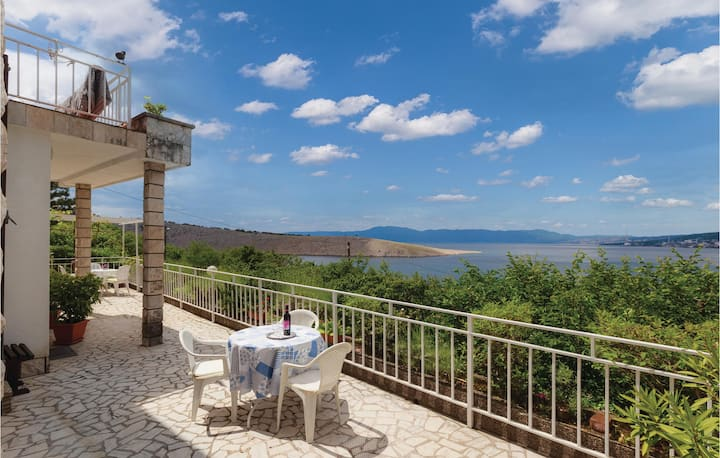 Amazing home in Kraljevica with WiFi and 1 Bedrooms