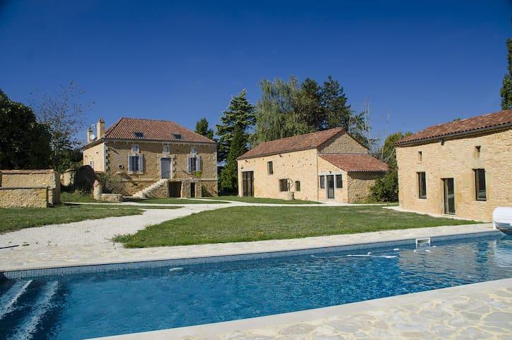 Villa Pech'Mej avec piscine en Périgord Noir - Sainte-Foy-de-Belvès - Villa