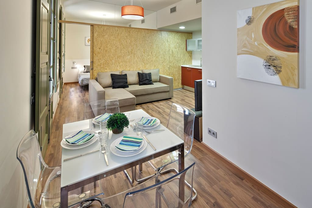 1 Bedroom Apartment Next To Ramblas Apartments For Rent In Barcelona Catalunya Spain