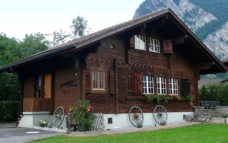 Swiss Holiday Chalet Interlaken - Unterseen by Interlaken - House